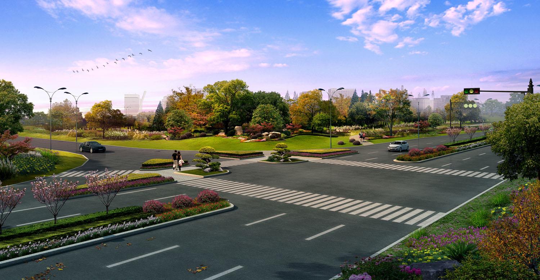 本设计范围为沿成子河公路两侧绿化景观设计,总面积为65.61万平方米.